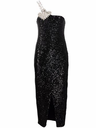 Balmain sequin-embellished Dress - Farfetch
