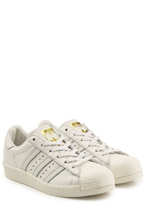 Superstar Boost Leather Sneakers Gr. UK 3.5