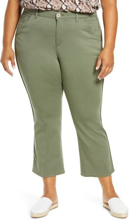 Ab-solution Luxe Touch Cotton Blend Ankle Trousers