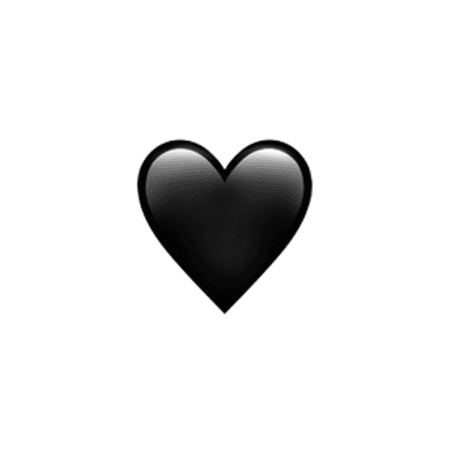 Black Heart 🖤 - Emoji of the Year presented by Watchable - The Shorty Awards