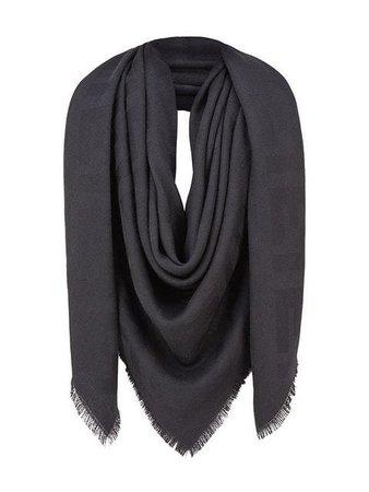 Fendi FF motif shawl scarf