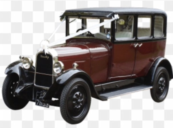 vintage 1920's car