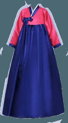 Pink and Purple Hanbok 2