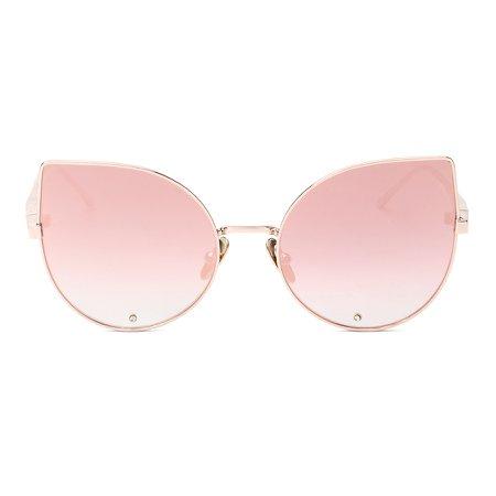 pink cat eye sunnies