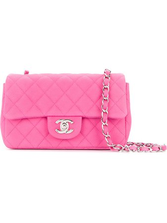 Chanel Vintage Flap Quilted Shoulder Bag - Farfetch