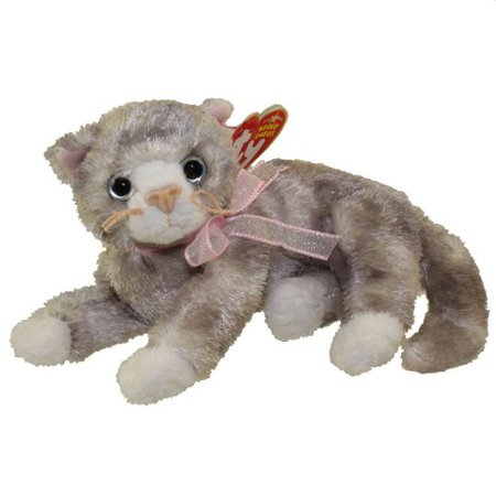 TY Beanie Baby - RHAPSODY the Cat (6.5 inch): BBToyStore.com - Toys, Plush, Trading Cards, Action Figures & Games online retail store shop sale