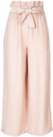 Cropped Paperbag Pant