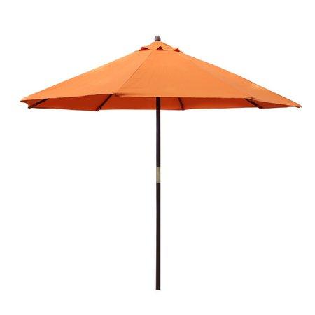 sombrilla naranja