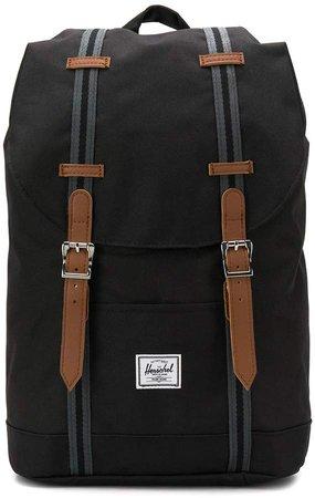 double buckle backpack