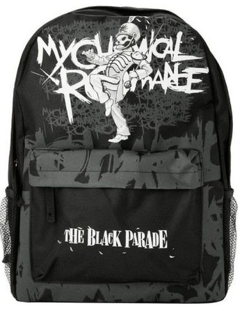 My Chemical Romance emo scene backpack from hot topic