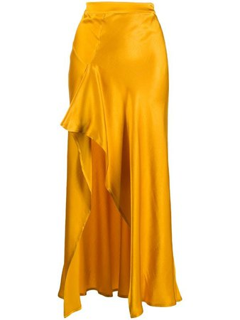 Ainea Draped Maxi Skirt - Farfetch