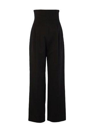 Alaia COTTON GABARDINE DRESS PANT