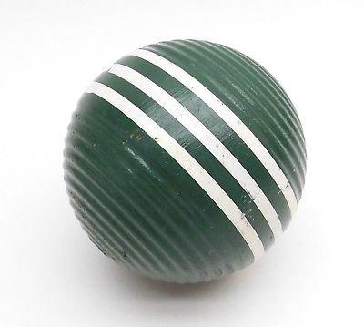 green croquet ball