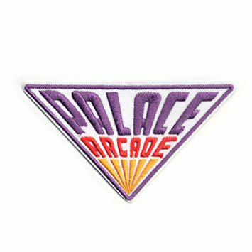 Stranger Things Palace Arcade Logo Iron On Patch: Amazon.ca: Home & Kitchen