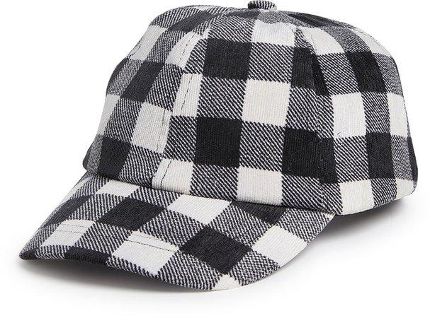 Buffalo Check Baseball Hat