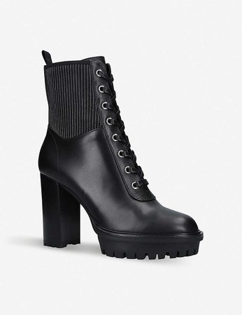 GIANVITO ROSSI - Martis 105 leather ankle boots   Selfridges.com