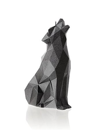 Amazon.com: Candellana Candles Candellana-Wolf Candle, Silver: Home & Kitchen