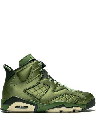 Air Jordan 6 Retro Pinnacle Sneakers AH4614303 Green | Farfetch