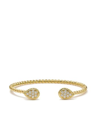 Boucheron Bracelet Torque Serpent Boheme 2 S En Or Jaune 18ct à Ornements En Diamant - Farfetch