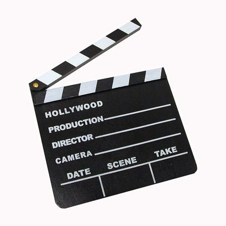 Windy City Novelties Hollywood Directors Party Kit Includes Directors Megaphone + Clapboard + Award Trophy [1540975241-129309] - $12.99