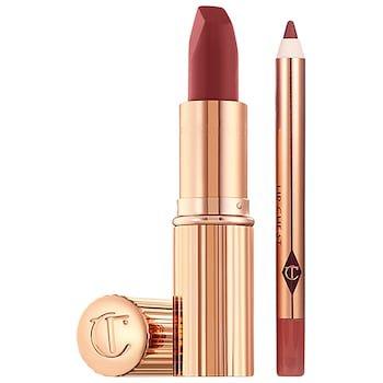 Walk of No Shame Lipstick and Liner Set - Charlotte Tilbury   Sephora