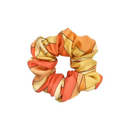Vintage Pucci Scrunchie in Orange & Yellow | Emi Jay