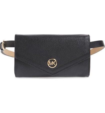 Michael Kors Leather Belt Bag | Nordstrom