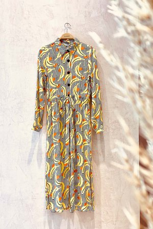 The Banana Dress (button-down) - Bettina Stores Bettina Stores