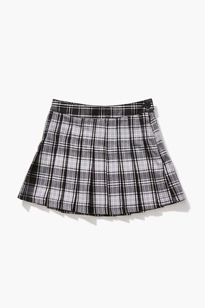 Girls Pleated Plaid Skirt (Kids)