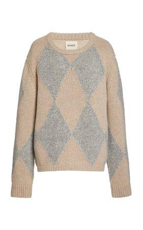 Daisy Oversized Cashmere-Silk Sweater by Khaite   Moda Operandi