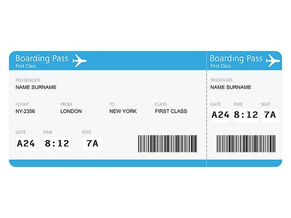 Royalty Free Airplane Ticket Pictures, Images and Stock Photos - iStock