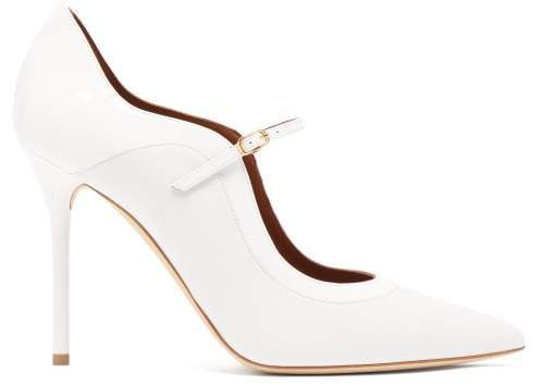 Corina Leather Mary Jane Pumps - Womens - White