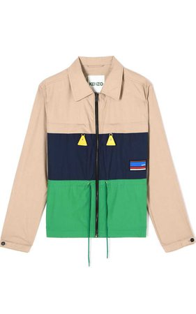 'Hyper KENZO' colourblock jacket for OUTLET Kenzo | Kenzo.com