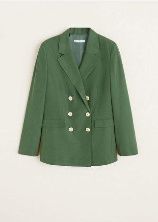 Modal-blend suit blazer - Women | Mango