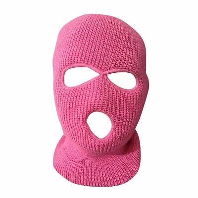 3 Hole Full Face Mask Ski Mask Winter Cap Balaclava Hat Army Tactical Knit Mask | eBay