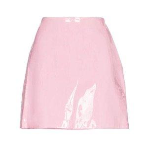 Staud Murray Mini Patent Leather Skirt