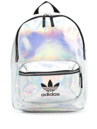 Black Adidas Velvet Logo Backpack | Farfetch.com