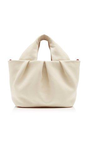 Lera Leather Top Handle Bag By Staud | Moda Operandi