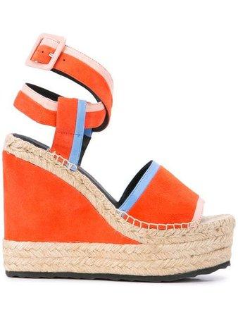 Pierre Hardy Alpha wedge sandals