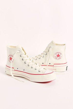 Chuck 70 Hacked Heel Hi Top Converse Sneakers | Free People