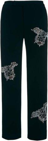 Libertine Ruby Tuesday Embellished Stretch-Wool Narrow Trousers
