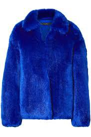 royal blue faux fur vest Royal blue Faux fur coat | Sale up to 70% off | THE OUTNET | SALLY LAPOINTE | THE OUTNET - discount2021.net