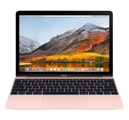 12-inch MacBook 256GB - Rose Gold - Apple