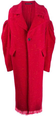 Pre-Owned oversized teddy coat