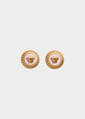 Versace Enamel Medusa Earrings