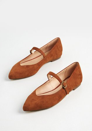 Suede Persuasion Ballet Flat | ModCloth