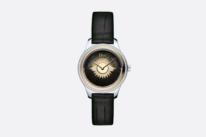 Black Dior Grand Bal Plume Ø 36 mm, Automatic Movement - Watchmaking - Women's Fashion   DIOR