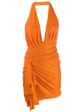 Alexandre Vauthier Embellished Draped Dress - Farfetch