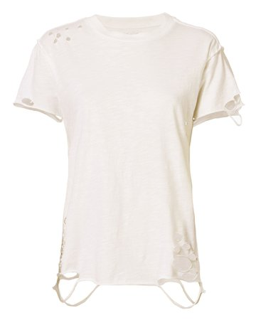 NSF Anderson Distressed Cotton T-Shirt   INTERMIX®