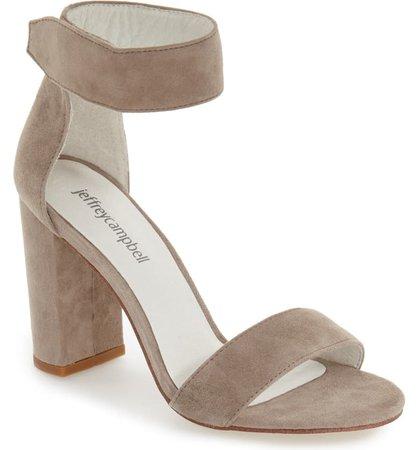 Jeffrey Campbell Lindsay Ankle Strap Sandal (Women) | Nordstrom